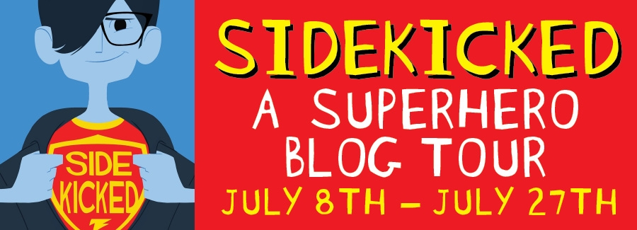 Sidekicked Blog Tour Banner Sidekicked Blog Tour, Author Guest Post, and Giveaway