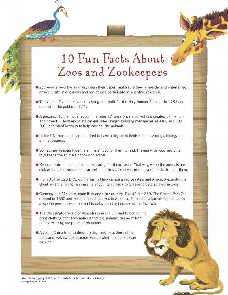 Zoo - Fun Facts copy